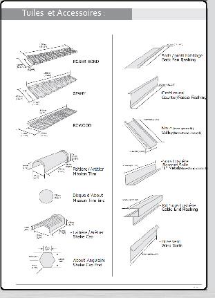 manuel de pose des tuiles acier roser toute la gamme de couverture m talliques les tuiles et. Black Bedroom Furniture Sets. Home Design Ideas